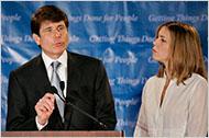 Rod Blagojevich dan Istri